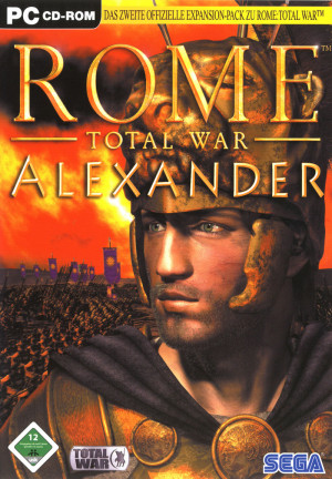 Rome: Total War - Alexander Windows Front Cover
