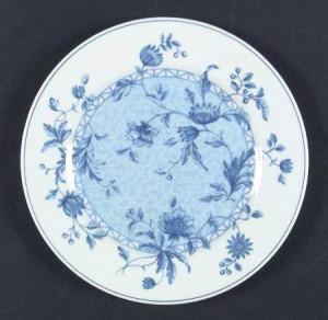 Wedgwood China Blue Flower