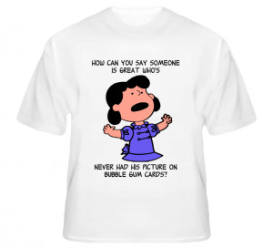 Charlie Brown's Christmas A Quote from Lucy T Shirt