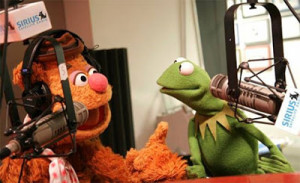 fozzie kermit the frog and fozzie bear muppets from space