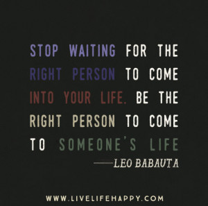 Quotes About Waiting for the Right Person