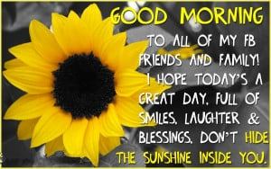 good morning quotes for facebook status good morning quotes for