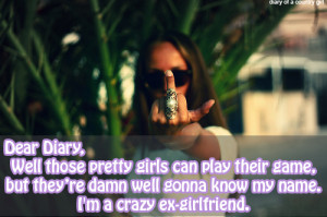 Psycho Ex Girlfriends Quotes