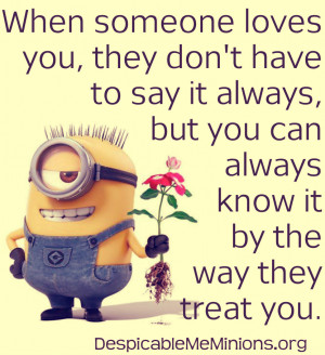 Minions Quotes .