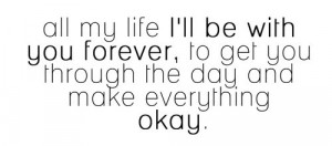forever, i love you, life, love, quote, quotes