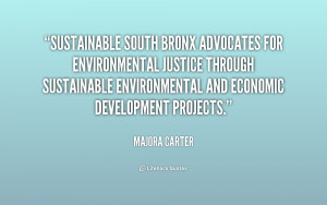 advocates for environmental justice through sustainable environmental ...