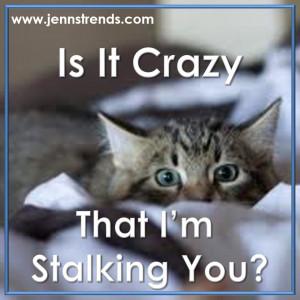 Instagram blog post notice - stalking you