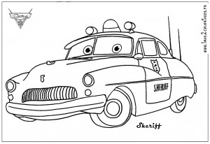 Disney Cars Printable Coloring Pages for Kids
