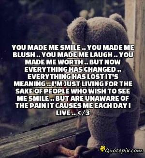 You Made Me Smile .. You Made Me Blush .. You Made Me Laugh .. You ...