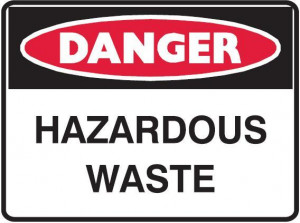 hazardous waste hazardous waste 600 x 450 mm metal metal 600 x 450 our ...