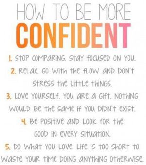 Be Confidence, Life, Wisdom, Motivation, Things, Living, How To, Howto ...