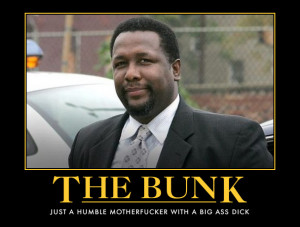 tags the wire bunk bunk moreland wire wendell pierce the bunk