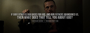 Fightclub Decaying Matter Quote Fightclub God Quote