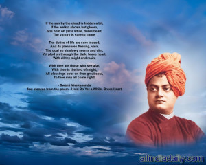 Swami Vivekananda's Biography Quotes and Wallpapers