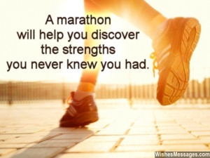 ... help you discover the strengths you never knew you had. Good luck