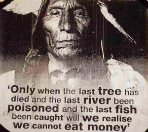 an indian proverb.