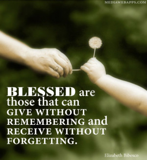 Feeling Blessed And Happy Quotes Blessed are those that can