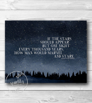 Star Quotes Inspirational Quote print, star quote print,