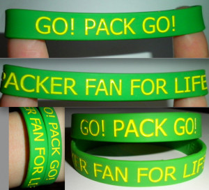 Packer fan for life bracelet