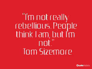 tom sizemore quotes i m not really rebellious people think i am but i ...