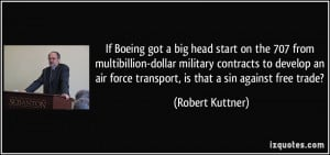 If Boeing got a big head start on the 707 from multibillion-dollar ...