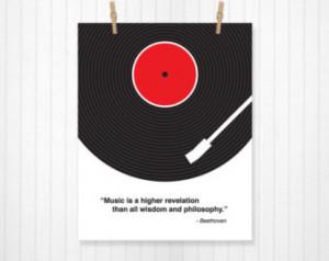 Custom Music Quote, Vinyl Record, Custom Lyric Print, Lyrics, Lyrics ...