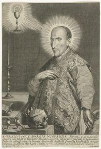bijt van de toch wel gewelddadige familie Borgia is Franciscus Borgia ...