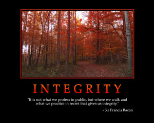 INTEGRITY - Motivational Wallpaper