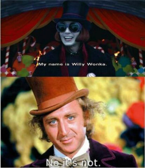 Willy Wonka ~Lol like them bother but Gene Wilder is Willy Wonka♥