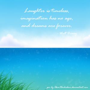 My background and Walt Disney Quote by AkaiHachidori