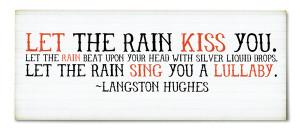 Inspiration: The Rain