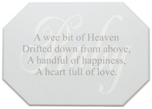 Baby Boo Decor - Family: When You Were Placed In My Arms, You Softly ...