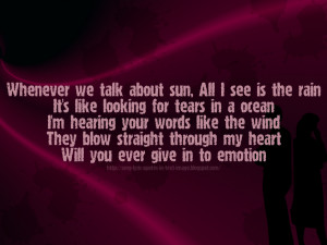 Song Lyric Quotes In Text Image