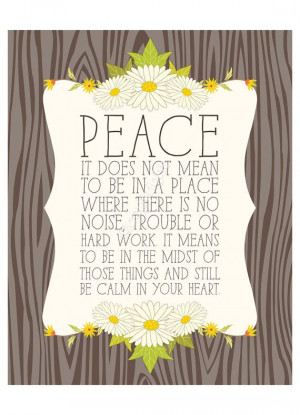 ... 8x10 inch print. Inspiring quote featuring pretty daisy flowers and