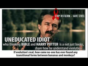 Kirk Cameron And Bananas WTF Religion evolution creationism atheism ...