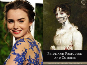 Lily Collins to star as Elizabeth Bennet in 'Pride, Prejudice and ...