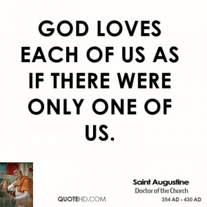 saint-augustine-saint-augustine-god-loves-each-of-us-as-if-there-were ...