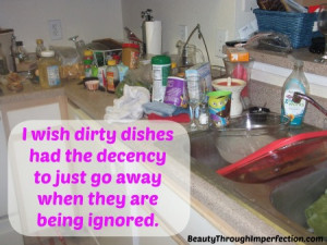Dirty Dishes Confession #27