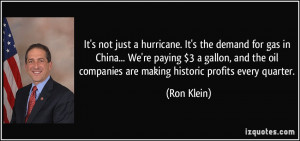 Quotes by Ron Klein