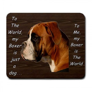 Details about BOXER DOG PUPPY PUPPIES MOUSE MAT PAD MOUSEPAD GIFT NEW