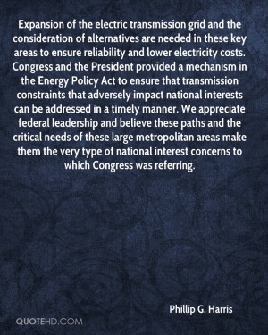 Expansion of the electric transmission grid and the consideration of ...