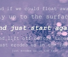 us against the world - coldplay