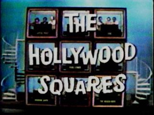 ... yet mentioned the original Hollywood Squares hosted by Peter Marshall