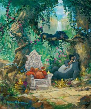 KING LOUIE, BAGHEERA, MOWGLI & BALOO ~ The Jungle Book, 1967...I ...