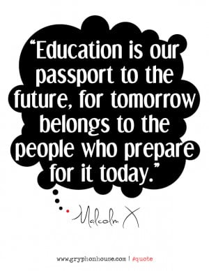 Quote of the Week Malcolm X