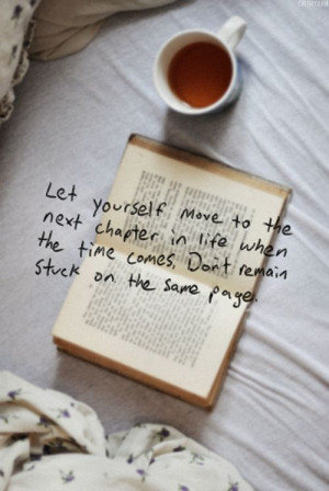 Next chapter in life Quote
