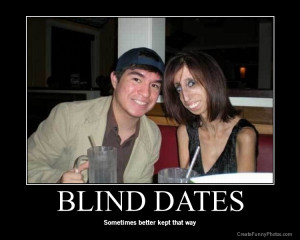 Blind date, funny and hilarious date
