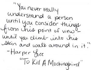 To Kill A Mockingbird Book Quotes To Kill A Mockingbird Book