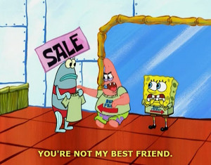 Patrick Star - Best Friend T-Shirt | Funny Pictures, Quotes, Jokes And ...