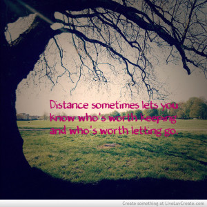 cute, distance knows, inspirational, love, pretty, quote, quotes